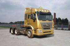 豪瀚牌ZZ4255N3246E1XW型危险品牵引车图片