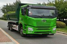 解放后双桥,后八轮平头柴油自卸车国五375马力(CA3251P25K15L3T1E5A80)