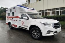 庆铃牌QL5030XJHCDCAJ型救护车图片