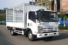 庆铃牌QL5043CCYAMHAJ型仓栅式运输车图片