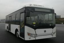 远程牌JHC6810BEVG3型纯电动低入口城市客车图片