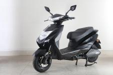 绿源牌LY800DQT-12D型电动两轮轻便摩托车图片