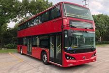 比亚迪牌BYD6100LSEV5型纯电动低入口双层城市客车图片