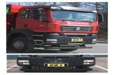 汕德卡牌ZZ3316N406MF1L型自卸汽車圖片