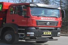 汕德卡牌ZZ3256N384MF1L型自卸汽车图片