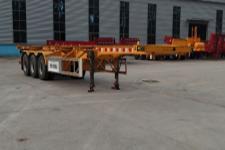 华鑫联合12.3米34.3吨3轴集装箱运输半挂车(HXL9401TJZ)