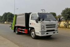 程力威牌CLW5041ZYS6CD型压缩式垃圾车