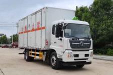 东风天锦危险品废物运输车  6.8米杂项危险品废物厢式货车