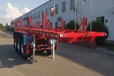 楚源7.5米35吨3轴运材半挂车(EHJ9400TYC)