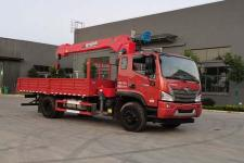 程力威牌CLW5160JSQB6型隨車起重運輸車