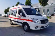 福田牌BJ5048XJH-V8型救护车图片