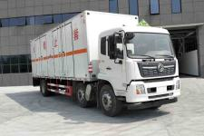 国六东风天锦小三轴7.7米/8.6米杂项危险物品厢式运输车