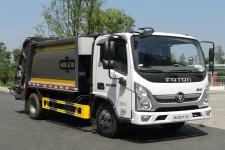 程力威牌CLW5090ZYS6CD型压缩式垃圾车