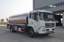 东风天锦铝合金运油车 15吨铝合金油罐车 油罐车价格