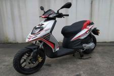 比亚乔牌BYQ50QT-5V型两轮轻便摩托车图片