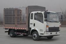 豪沃牌ZZ2047CCYC2824E142型越野仓栅式运输车图片
