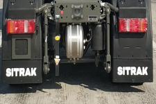 汕德卡牌ZZ4256V383HF1LW型危險品牽引車圖片