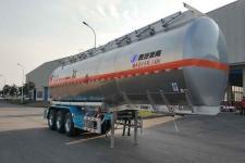 陕汽牌SHN9400GRYP480型铝合金易燃液体罐式运输半挂车图片