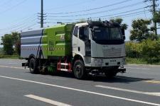 國六解放J6洗掃車價格