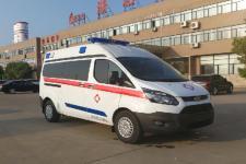 国六福特监护型救护车