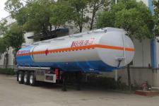 醒獅12.2米33.6噸3軸鋁合金運油半掛車(SLS9400GYYE)
