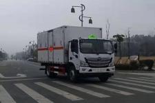 国六福田欧马可5.15米易燃气体厢式运输车
