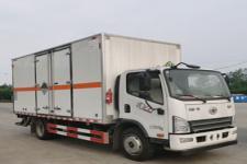 国六解放虎V 5米2/5米5杂项危险物品厢式运输车