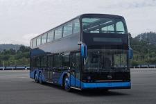 12.2米比亞迪BYD6120BD1EV1純電動低地板雙層城市客車