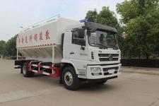 国六陕汽轩德散装饲料车价格188-7298-8221陈经理
