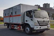 国六福田易燃气体厢式运输车