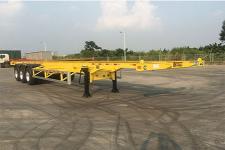 中集12.2米35.4吨3轴集装箱运输半挂车(ZJV9402TJZDG)