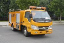 新東日牌YZR5030XXHBJ6型救險車