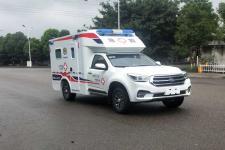 庆铃牌QL5030XJHBZHAJ型救护车图片
