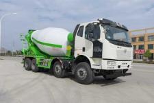 华专一牌EHY5310GJBCA6型混凝土搅拌运输车