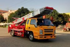 国六江铃搬运水泥沙子、瓷砖、搬家作业车/云梯车