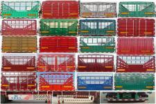 华鲁业兴牌HYX9401CCY型仓栅式运输半挂车图片
