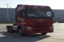 解放牌CA4250P26K15T1E5A80型平头柴油牵引车图片