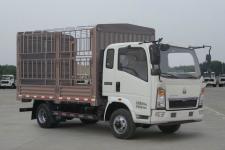 豪沃牌ZZ2047CCYG332CE145型越野仓栅式运输车图片