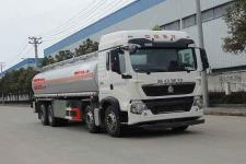 华威驰乐牌SGZ5312GYYZZ5T5型铝合金运油车