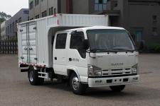 庆铃牌QL5040XXYAMHWJ型厢式运输车图片