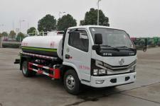 国六东风发福瑞卡5吨洒水车厂家出厂价格