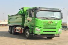解放牌CA3250P27K15L1T1NE6A80型平头天然气自卸汽车图片
