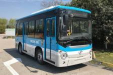 海格牌KLQ6605GEVN2型纯电动城市客车图片