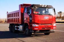 解放牌CA3250P66K24L2T1E6型平头柴油自卸汽车图片