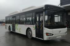 海格牌KLQ6129GAHEVC6N型插电式混合动力城市客车图片