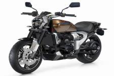 建设牌JS500-3D型两轮摩托车图片