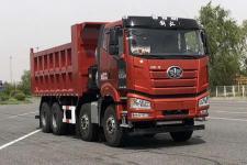 解放牌CA3310P66M26L1T4E6型平头天然气自卸汽车图片