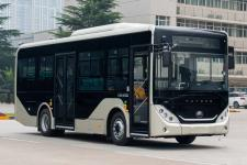 宇通牌ZK6856BEVG3型纯电动城市客车图片