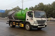 聚尘王牌HNY5120GQWB6型清洗吸污车