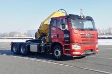 解放牌CA4250P66K24L1T1E6Z型随车式起重牵引运输车图片